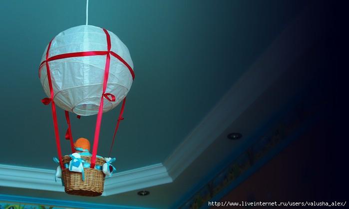 Воздушный шар делаем своими руками