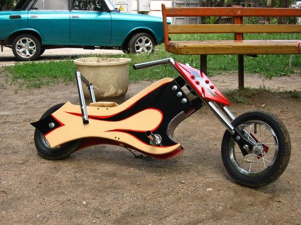 Детский мотоцикл своими руками 92