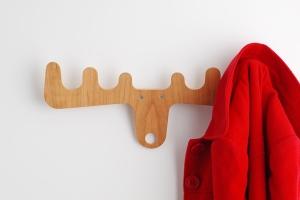вешалка для одежды рога оленя