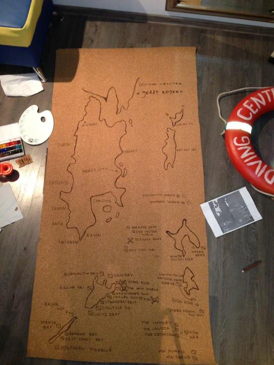 карта Пхукет