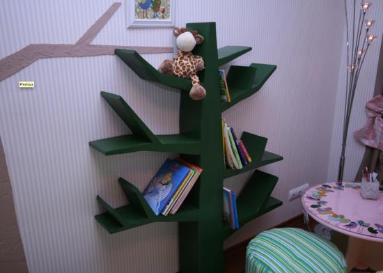 полка дерево Marinezzz для детской