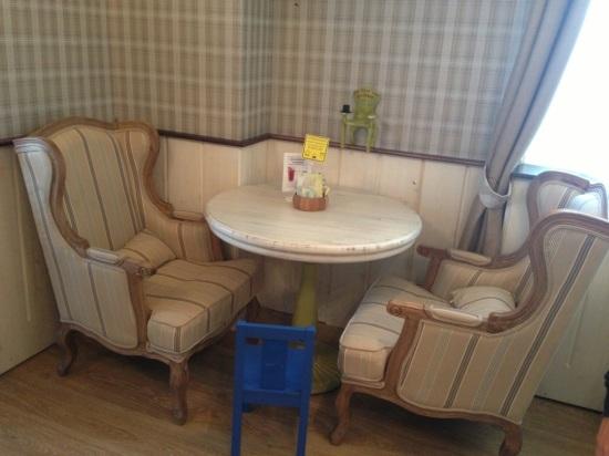 Андерсон на Братиславской, счастливый стол