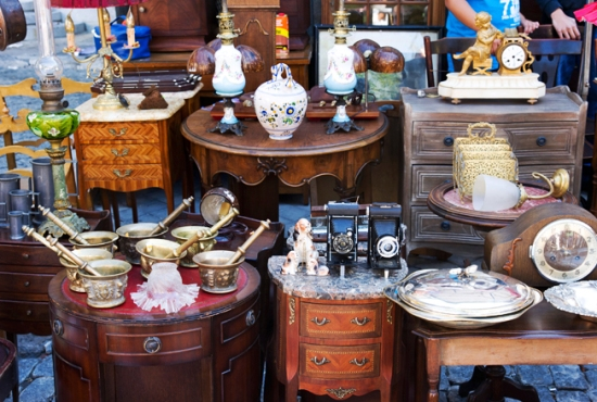 El Rastro flea market, Madrid, Spain