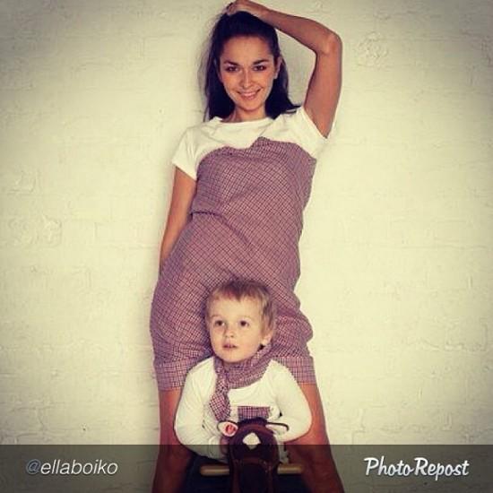 Эля Бойко familylook_mamanonstop